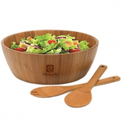 Bamboo Salad Bowl