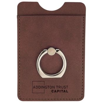 RFID Premium Phone Wallet with Ring Holder - Technology