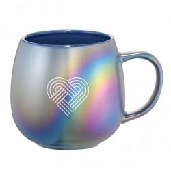Iridescent Ceramic Mug 15 oz