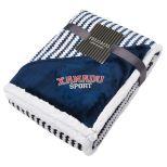 Field & Co. Chevron Striped Sherpa Blanket