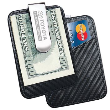 Money Clip with Card Pocket - Travel Accessories & Luggage