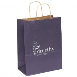Matte Finish Gift Bag with Twisted Handles