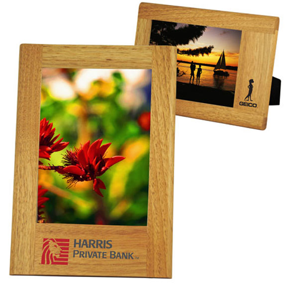 Wide border Natural Wood Frame 5 x 7 - Kitchen & Home Items