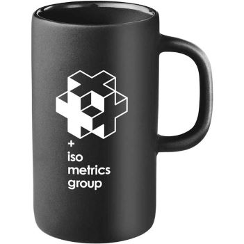 Tall 12oz Ceramic Mug - Mugs Drinkware