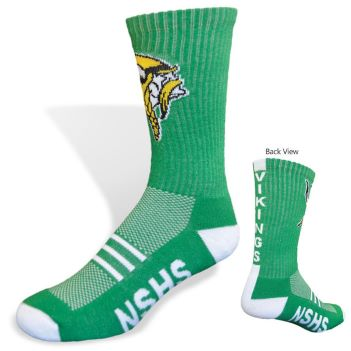 Moisture Wicking Team Crew Sock - Apparel