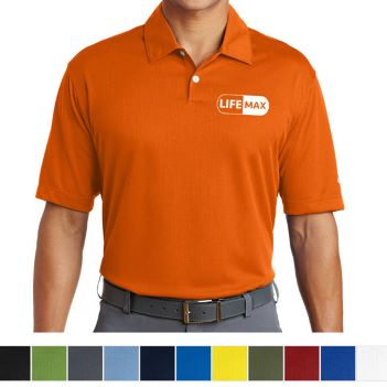 Nike Dri-Fit Pebble Texture Polo - Apparel