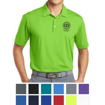 Nike Dri-Fit Vertical Mesh Polo - Apparel