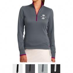 Nike Ladies' Dri-Fit 1/2-Zip Cover Up