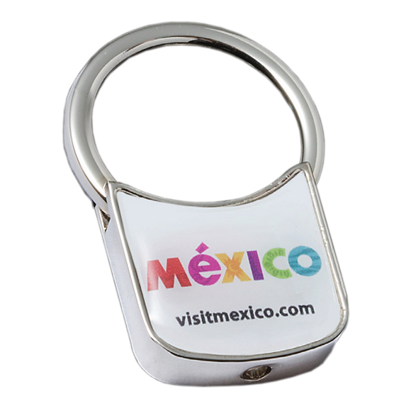 Full Color Domed Key Tag - Travel Accessories & Luggage