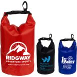 2.5L Water Resistant Dry Bag with Clear Pocket Window