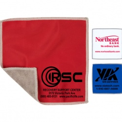 2-in-1 Microfiber Cloth and Towel