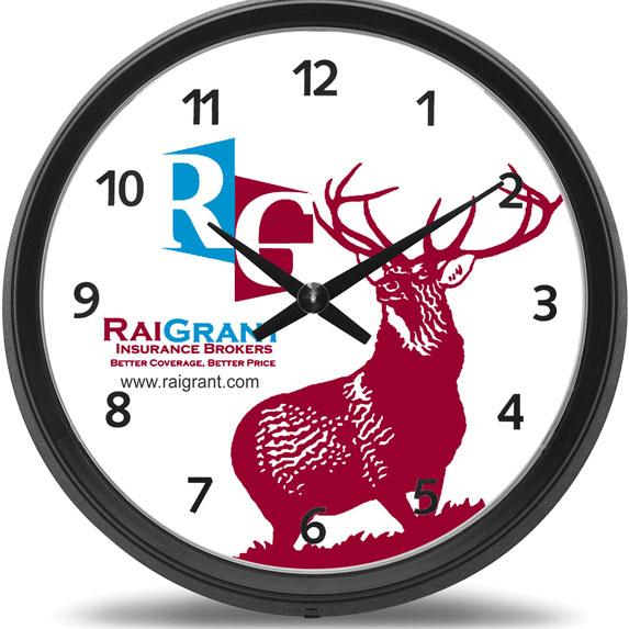 "17"" Wall Clock - Awards Motivation Gifts"