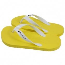 Foam Flip Flops with Strap Imprint