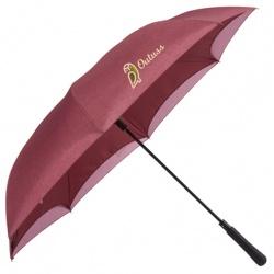 48 Auto Close Heathered Inversion Umbrella