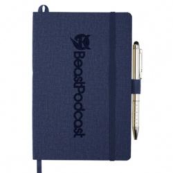 5.5 x 8.5 Heathered Soft Bound JournalBook