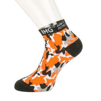 Custom Short Business Style Socks - Apparel