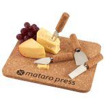 5 Piece Cork Cheese Platter