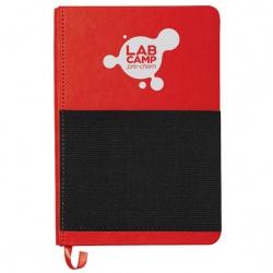 5 x 7 Elastic Phone Pocket Notebook