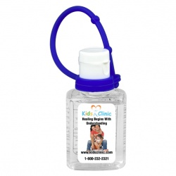 0.5 oz  Hand Sanitizer with Silicone Leash