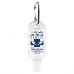 1.0 oz Hand Sanitizer with Carabiner