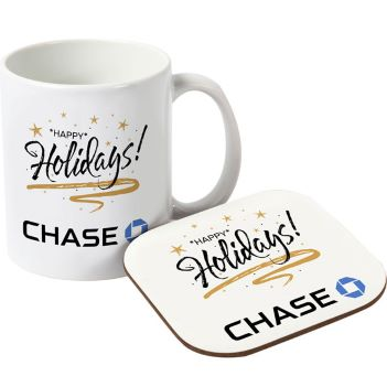 Mug and Hard Coaster Gift Set - Mugs Drinkware