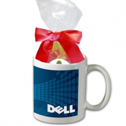 11 oz. Mug with Gummy Bears
