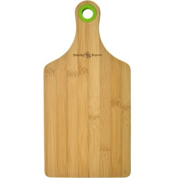 Bamboo Cheese Board with Silicone Ring - Kitchen & Home Items