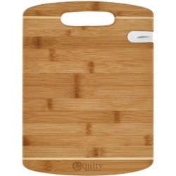 Bamboo Cutting Board with Knife Sharpener