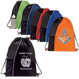 Highlighted Promotional Drawstring Backpack