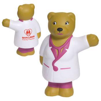 Nurse Bear Stress Reliever - Puzzles, Toys & Games
