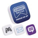 Mobile App Icon Stress Toy