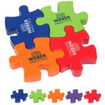 4-Piece Connecting Puzzle Stress Toy