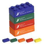 4-Piece Building Block Stress Toy Set