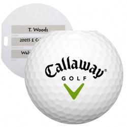 Jumbo Golf Ball Luggage Tag