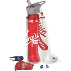 Hydration Golf Kit with Wilson Ultra Golf Ball