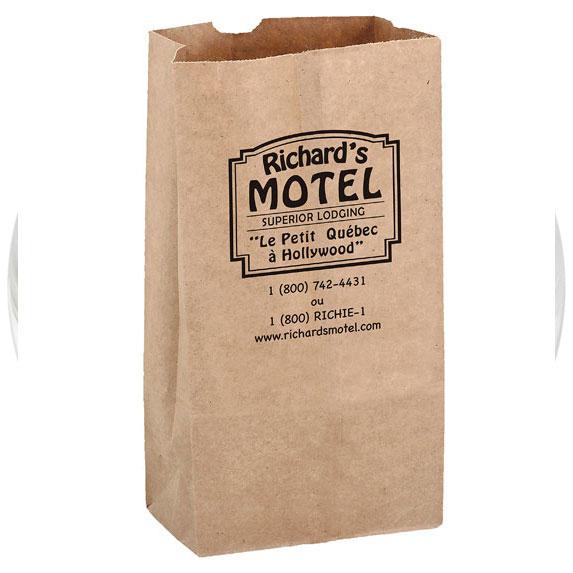 Recycled Kraft Paper Grocery Bag - Bags