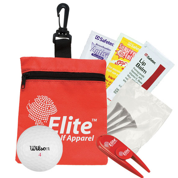 Golf & Suncare in a Bag Gift Set - Outdoor Sports Survival