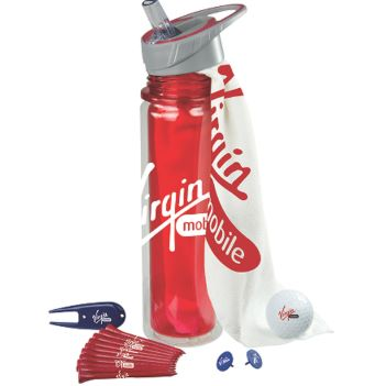 Hydration Golf Kit with Titleist Golf Ball - Outdoor Sports Survival