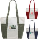 Bahama Cotton Canvas Tote