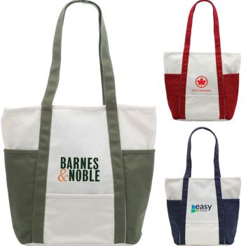Bahama Cotton Canvas Tote - Bags