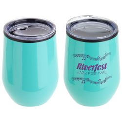 12 oz. Stainless Steel Wine Goblet