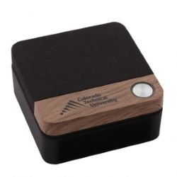 Wood Accented Bluetooth Speaker
