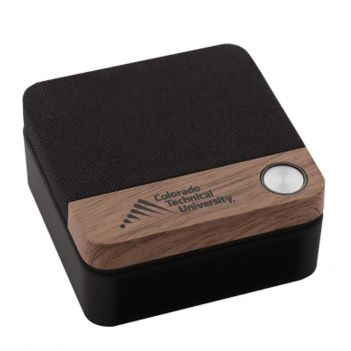 Wood Accented Bluetooth Speaker - Technology