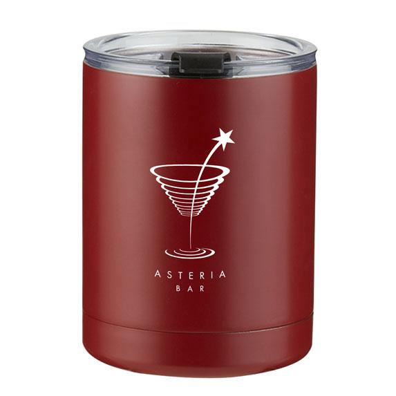10 oz. Stainless Steel Low Ball - Mugs Drinkware