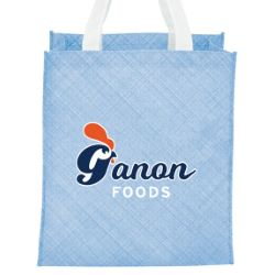 Pastel Non-Woven Big Grocery Tote