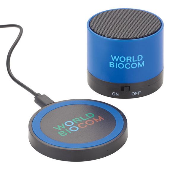 Cosmic Bluetooth Speaker & Wireless Charging Pad - Technology
