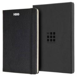 Moleskine Leather Ruled Large Notebook