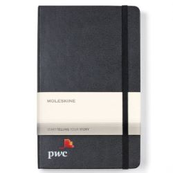 Moleskine Hard Cover Ruled Large Expanded Notebook