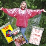 Emergency Rain Ponchos