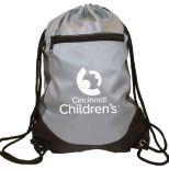Soft RPET Pocket Drawstring Backpack